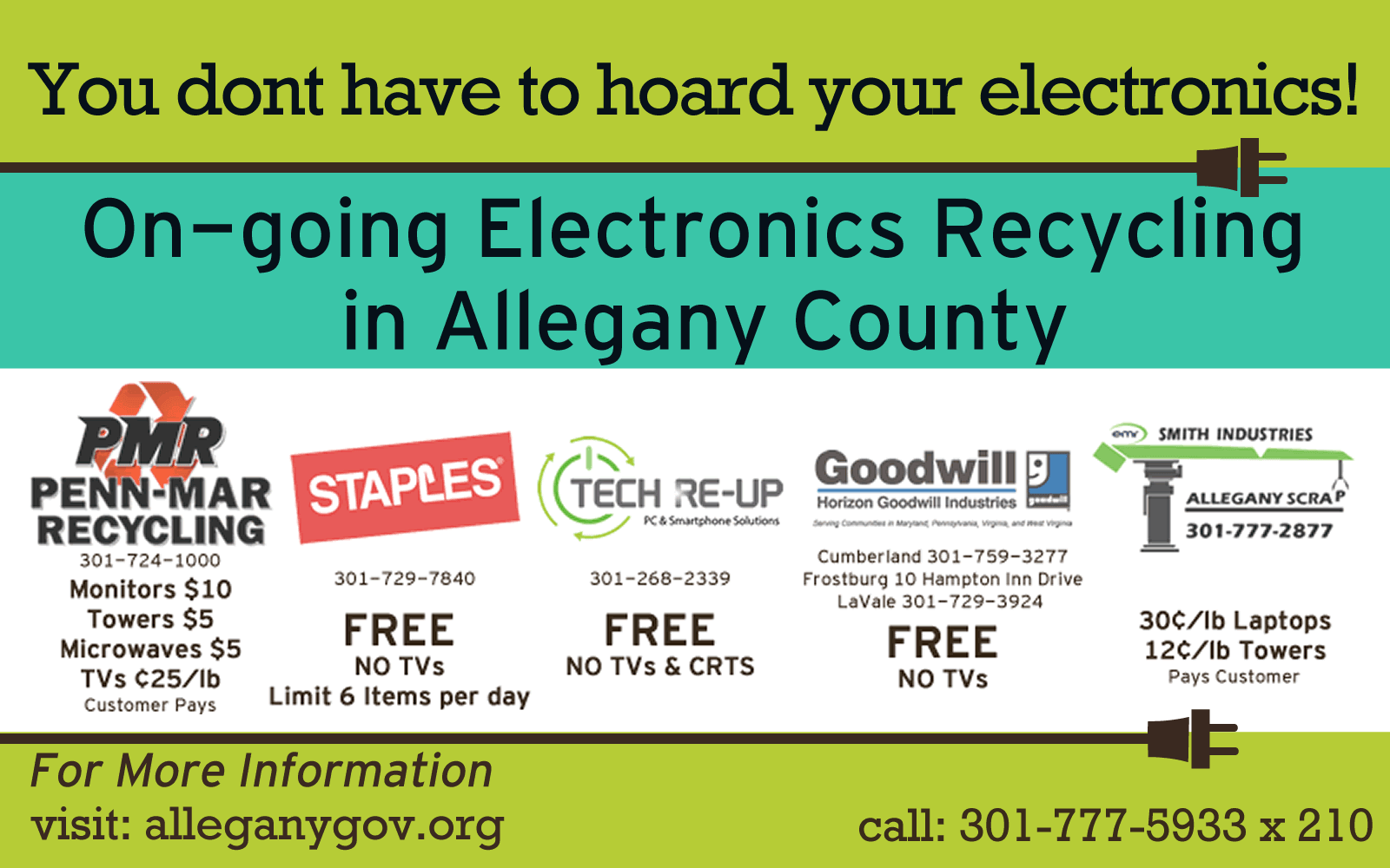 On-going electronics recyccling_